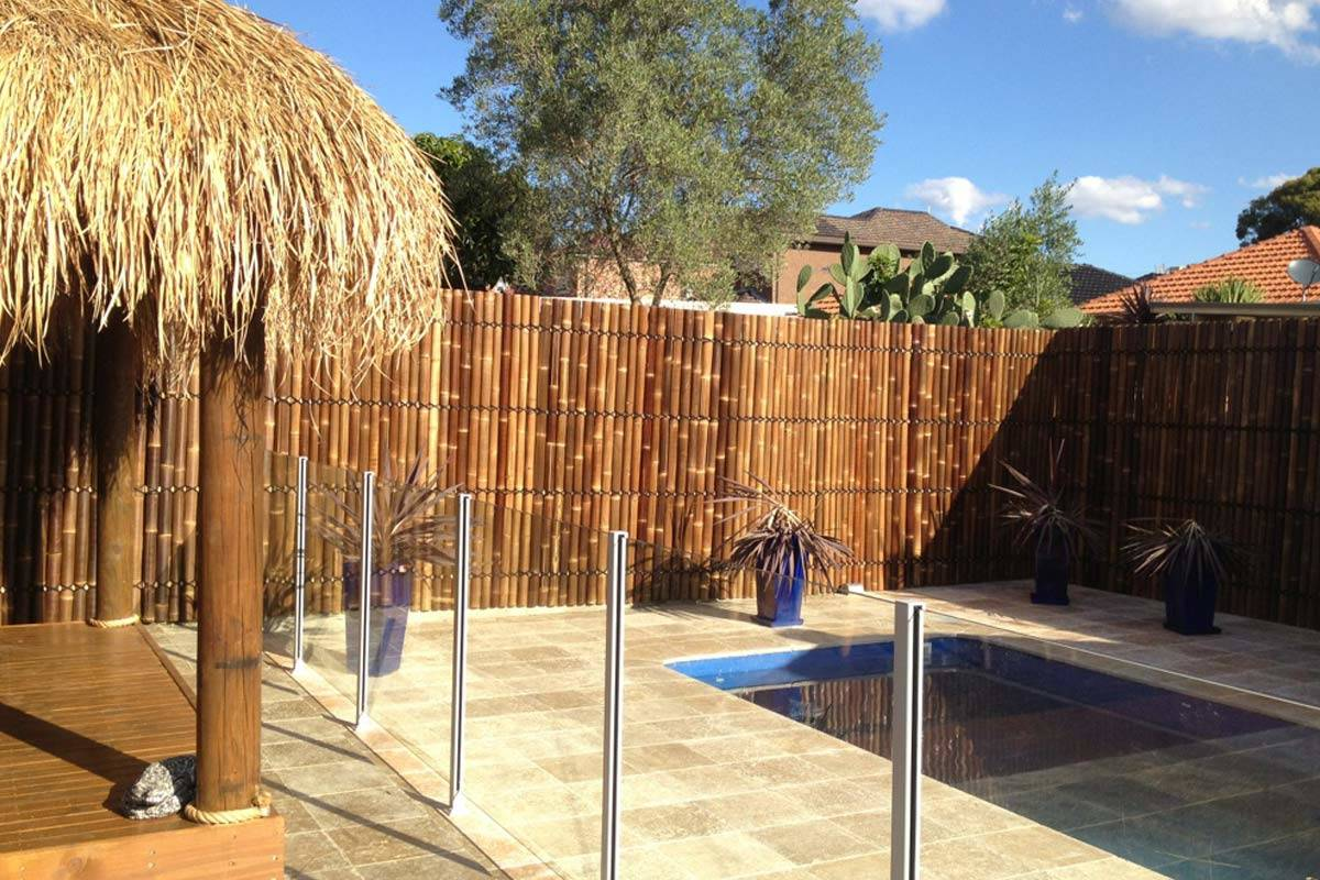 Why Should You Consider A Bamboo Fence Aarons Outdoor Living