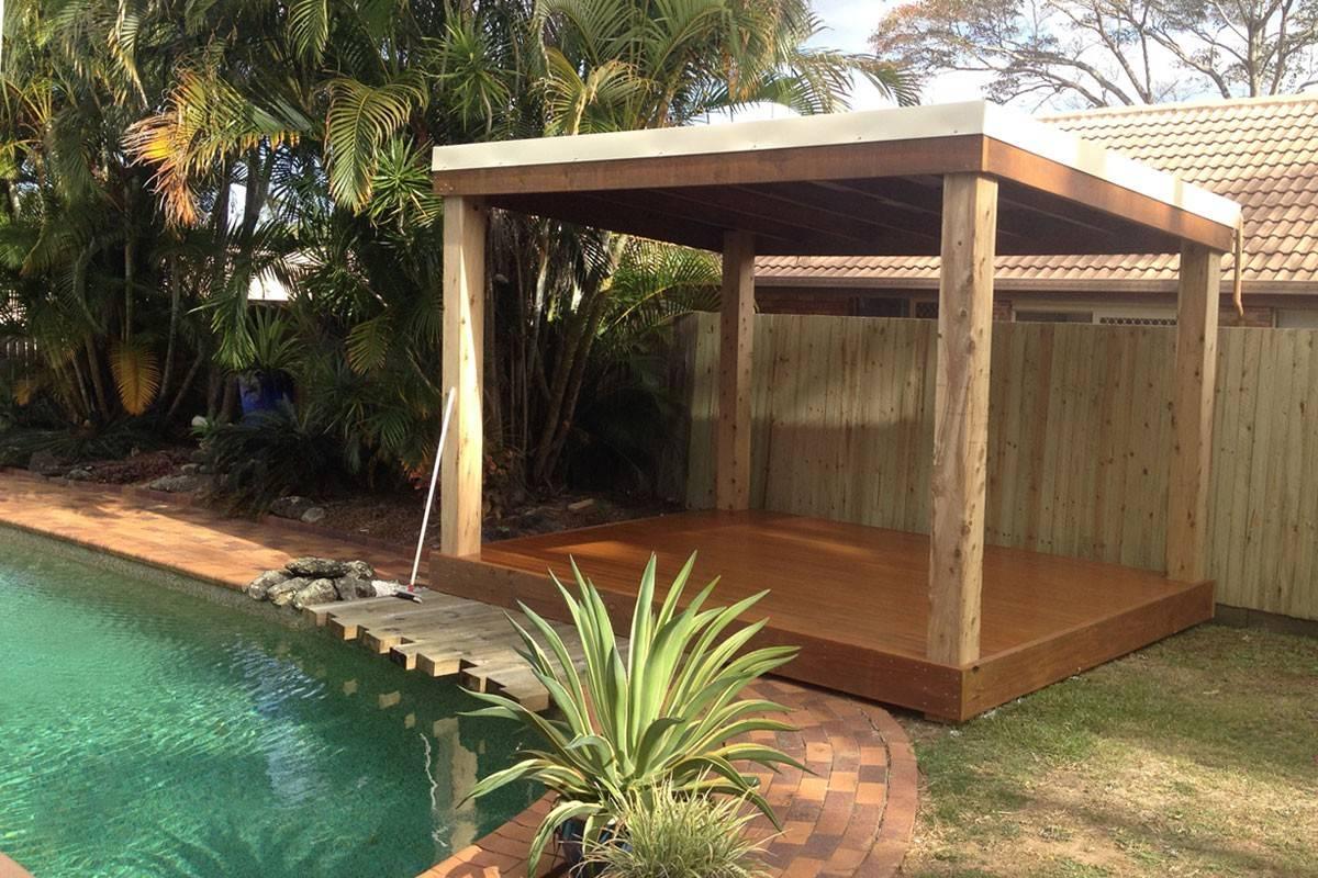 Pergolas Amp Outdoor Features Aarons Outdoor Living