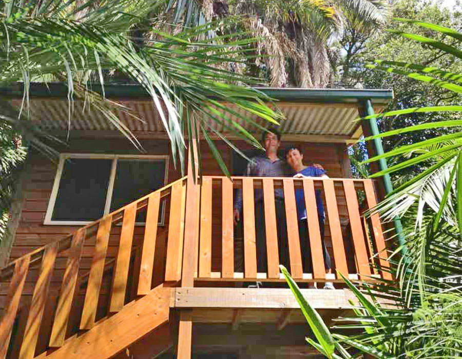 granny flat balustrades