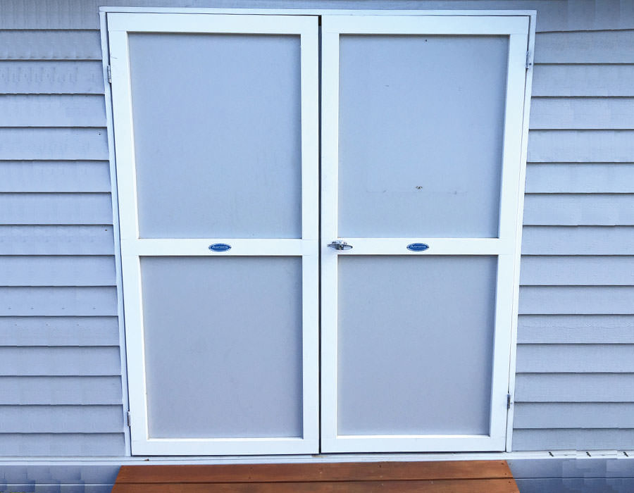 granny flat double doors