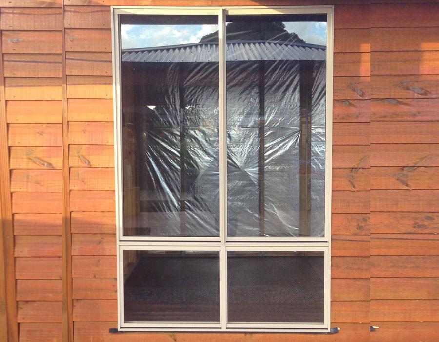 granny flat extra large window