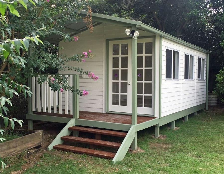 granny flat gable end verandah