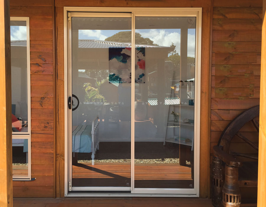 granny flat glass sliding doors