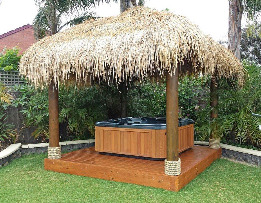 3x3 Bali Hut with Spa